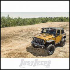 Rugged Ridge Bowless Soft Top in Black Diamond For 2007-18 Jeep Wrangler JK 2 Door 13750.39