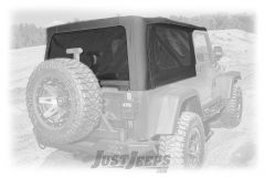 Rugged Ridge Black Diamond Montana Soft Top For 2004-06 Jeep Wrangler TJ Unlimited Models 13761.35