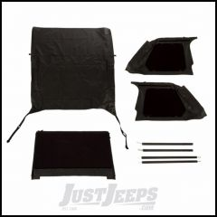 Rugged Ridge Black Diamond Bowless Montana Top For 1997-06 Jeep Wrangler TJ 13790.35