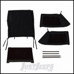 Rugged Ridge Black Diamond Bowless Montana Top For 2007-18 Jeep Wrangler JK 2 Door Models 13790.39
