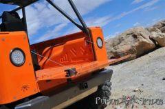 Poison Spyder TrailGate For 1997-06 Jeep Wrangler TJ & TLJ Unlimited Models (Bare Aluminum) 14-66-010