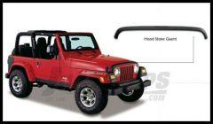 Bushwacker TrailArmor Hood Stone Guard For 1997-06 Jeep Wrangler TJ Models