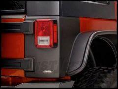 Bushwacker TrailArmor Rear Corners Guards For 2007-18 Jeep Wrangler JK Unlimited 4 Door Models