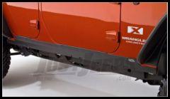 Bushwacker TrailArmor Rocker Panels & Door Sill For 2007-18 Jeep Wrangler JK Unlimited 4 Door Models