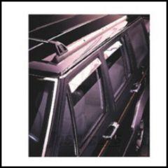 Auto Ventshade Window Deflectors In Stainless Steel For 1984-01 Jeep Cherokee XJ 4 Door Models 14412