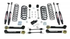 """TeraFlex 3"""" Performance Suspension System With Shocks For 2003-06 Jeep Wrangler TJ & Unlimited 1456332"""