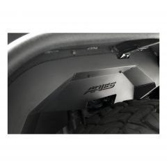 Aries Automotive Front Inner Fender Liners In Black For 2007-18 Jeep Wrangler JK 2 Door & Unlimited 4 Door Models 1500350