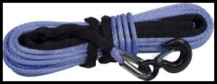 """Rugged Ridge Synthetic Winch Rope For 3/8"""" X 94' 19,310lbs. breaking force 15102.11"""