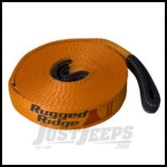 """Rugged Ridge Recovery Strap For 20000LB - 2"""" x 30' 15104.02"""