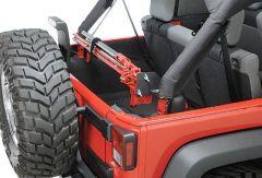 Quadratec Sport Cage Hi-Lift Jack Mount for 11-18 Jeep Wrangler Unlimited JK 4 Door 92200.9006