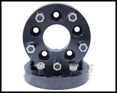 "Rugged Ridge Billet Aluminum 1.375"" Wheel Conversion Spacers  For 2007+ JK Wrangler With 5x5 to 5x5.5"" 15201.07"