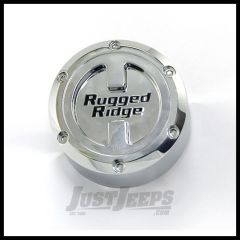 Rugged Ridge Replacement Center Cap for 17x9 Aluminum Wheel 07+ Wrangler JK and Unlimited 15201.50