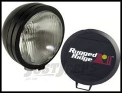 "Rugged Ridge HID Offroad 6"" Round Fog Light in Black 15205.01"