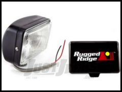 Rugged Ridge 5X7 Off Road Driving Light in Black 100W 15207.05