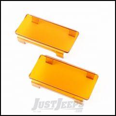 "Rugged Ridge 6"" LED Amber Light Covers 15210.45"