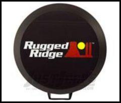 "Rugged Ridge HID Lighting Covers Black 5"" round stone guards 15210.52"