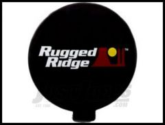 "Rugged Ridge 6"" Light Cover in Black 15210.53"
