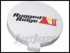 "Rugged Ridge 6"" Light Cover in White 15210.54"