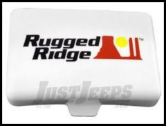Rugged Ridge 5X7 Light Cover in White 15210.56