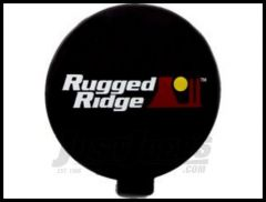 Rugged Ridge Slim Light Cover in Black 15210.57