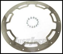 Rugged Ridge Rim Protector in Polished stainless steel Fits 17x9 wheels 15250.01