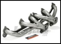 JBA Performance Cat4Ward Header Silver Ceramic Coated Finish For 2000-06 Jeep Wrangler TJ Models With 4.0L 1527SJS