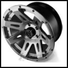 "Rugged Ridge 17x9 XHD Wheel Gun Metal With 5"" X 5 Bolt Pattern & -12mm Offset 15301.30"
