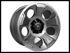 Rugged Ridge 17x9 Drakon Wheel (GunMetal Gray) For 2007-18+ Jeep Wrangler JK/JL 2 Door & Unlimited 4 Door Models 15302.30
