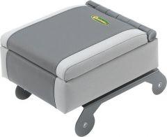 Quadratec Logo Sliding Arm Rest Console Organizer for 07-10 Jeep Wrangler JK 55013.0604