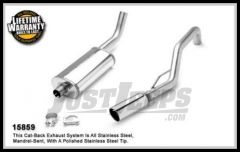 Magnaflow Performance Stainless Steel Cat Back Exhaust System For 1999-04 Jeep Grand Cherokee With 4.7L or 4.0L 15859