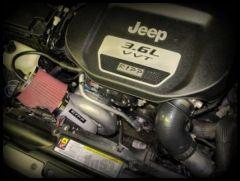 Ripp Supercharger 3.6ltr V6 Supercharger Kit Intercooled For 2015-17 Jeep Wrangler JK 2 Door & Unlimited 4 Door Models (With Auto Transmission) 15JKSDS36-A