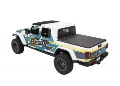BESTOP EZFold Soft Folding Tonneau Cover For 2020+ Jeep Gladiator JT 4 Door Models 16280-17