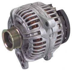 Quadratec 132 Amp Alternator for 01-03 Jeep Grand Cherokee WJ with 4.0L Engine 55100.0507