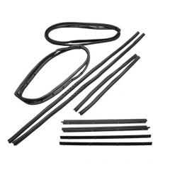 Fairchild Industries Full Steel Door Seal Kit for 76-86 Jeep CJ-7, Scrambler with Moveable Vent Window KD2010