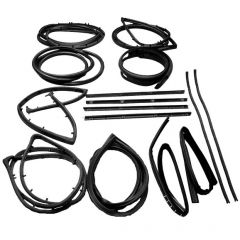 Fairchild Industries 15 Piece Seal Kit for 76-86 Jeep CJ-7 & Scrambler with Fixed Vent Window KD4006