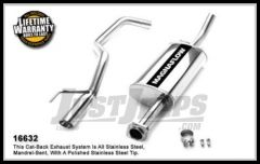 Magnaflow Performance Stainless Steel Cat Back Exhaust System For 2005-10 Jeep Grand Cherokee With 3.7L or 4.7L 16632