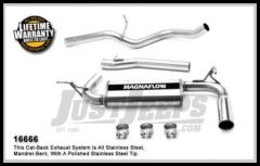 Magnaflow Performance Stainless Steel Cat Back Exhaust System For 2006-10 Jeep Commander With 5.7L 16666