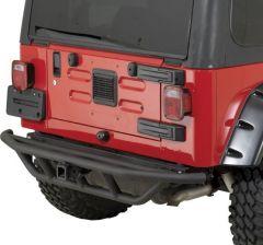 Quadratec QRC Rear Bumper for 87-06 Jeep Wrangler YJ, TJ & Unlimited 12057.0212