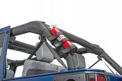 Quadratec Nylon Strap Large Fire Extinguisher Holder 14018-
