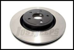 Omix-ADA Brake Rotor Front For 2007-18 Jeep Wrangler JK With Dana 30 Light Duty 16702.12