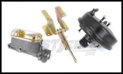 Omix-ADA Brake Master Cylinder Kit With Power (2-Bolt Caliper) For 1976-86 Jeep CJ Series 16718.20
