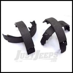 Omix-ADA Brake Shoe Set Rear For 1994-01 Jeep Cherokee and 1994-98 Jeep Grand Cherokee With 10 in. Brakes 16726.14