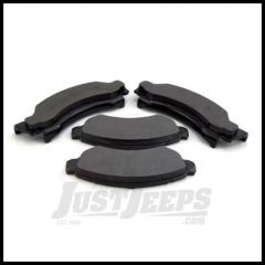 Omix-ADA Brake Pad Set Front For 1976-79 Jeep CJ5 CJ7 With 6 Bolt Caliper Plate 16728.01