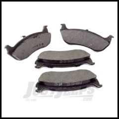 Omix-ADA Brake Pad Set Rear For 2003-06 TJ Wrangler With Rear Disc Brakes 16729.06