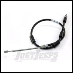 Omix-ADA Emergency Brake Cable Rear Driver or Passenger For 1997-06 Jeep Wrangler TJ With Drum Brakes 16730.26