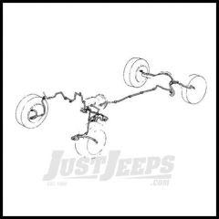 Omix-ADA Full Brake Line Kit (Non ABS) For 1997-06 Jeep Wrangler TJ 16737.51