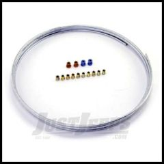 """Omix-ADA Brake or Fuel Line Universal Steel 1/4"""" Coil With 14 Fittings (25 ft) 16737.81"""