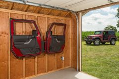 Quadratec Door Storage Hanger for 76-20+ Jeep Wrangler, Gladiator, & CJ 12020.5000