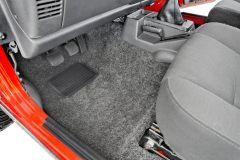 Bedrug Premium Carpeted Front Floor Covering for 97-06 Jeep Wrangler TJ & Unlimited BRTJ97-
