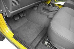 Bedrug BedTred Premium Molded Front Floor Covering for 97-06 Jeep Wrangler TJ & Unlimited BTTJ97-
